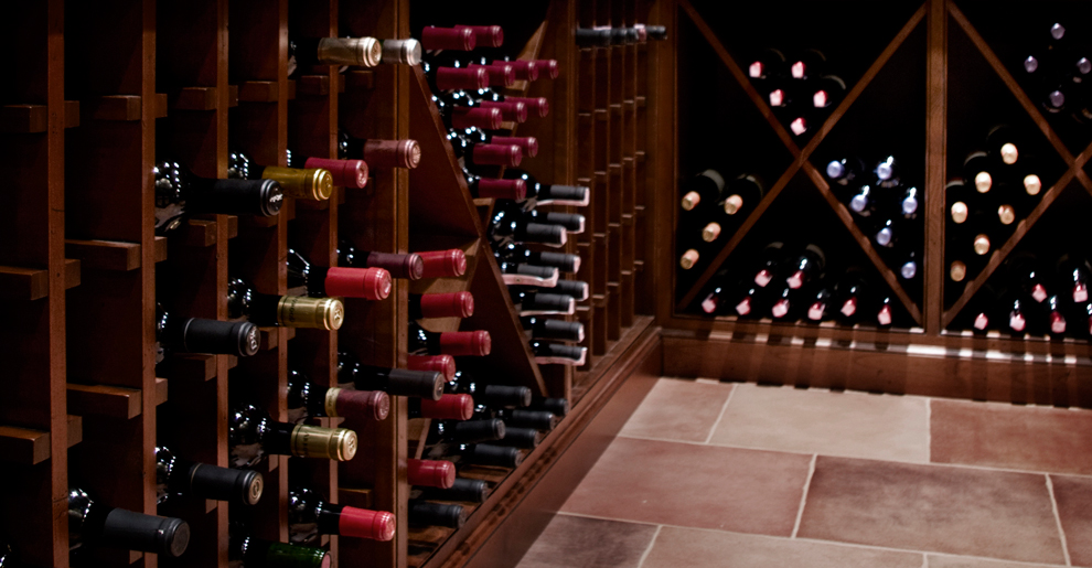 The Prestigious Home - Custom Tailored Wine Cellars